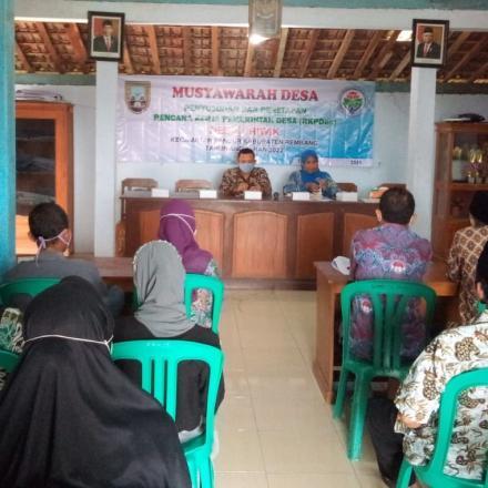 Musdes Penyusunan dan Penetapan RKPDes Tahun 2022